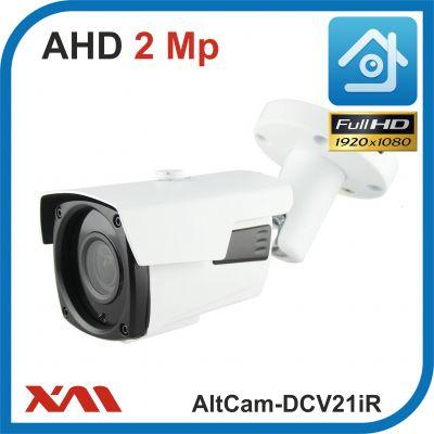 AltCam DCV21IR.(Металл/Белая). 1080P. 2Mpx. Камера видеонаблюдения.