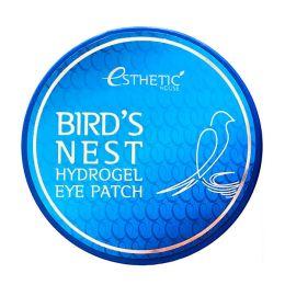 Патчи для глаз с ласточкиным гнездом Esthetic House Bird's Nest Hydrogel Eye Patch 60 шт.