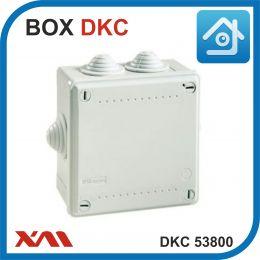 DKC 53800. Универсальная монтажная коробка для камер видеонаблюденияя. 100х100х50 мм. IP 55.