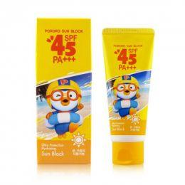 PORORO sunblock cream SPF45 (Детский солнцезащитный крем ЗРР45)