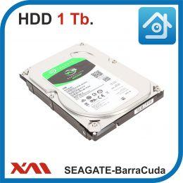 HDD 1 Tb. Seagate BARRACUDA ST1000DM010. Жесткий диск 3.5.