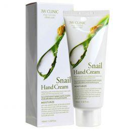 [3W CLINIC] Крем д/рук увлажняющий УЛИТОЧНЫЙ МУЦИН Snail Hand Cream, 100 мл