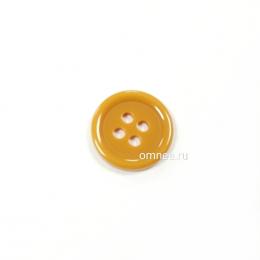 Пуговица классическая 12 мм, цв.: песочный, арт. 1375700, шт.