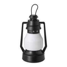 ВИНТЕР 2018 Декоративная подсветка, светодиоды, с батарейным питанием, фонарь черный 12,5 см