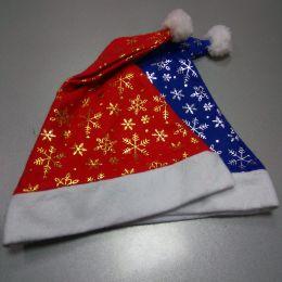 Колпак Деда Мороза (синий, красный)