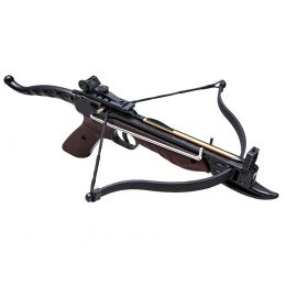 Арбалет пистолет Скаут (пластик под дерево) 36кг