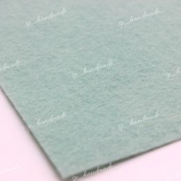 Фетр жесткий 1 мм 20см*30см светло-голубой 1 шт/ полиэстер