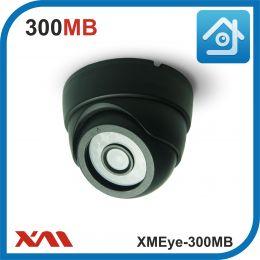 XMEye-300MB (Черный). Муляж купольной камеры видеонаблюдения.