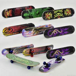 Скейт F 22224 / MS 0323 (24) 8 видов, колесо d=5cm, PVC, длина доски =60см [Пленка]