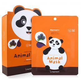 БР Animal Маска тканевая экстрактом ежевики Animal mask series - Panda 25мл