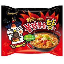 """Лапша б/п со вкусом курицы острая """"Hot chicken flavor ramen stew type"""" 145г"""