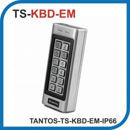 TANTOS TS-KBD-EM-IP66. Кодовая панель с встроенным считывателем.