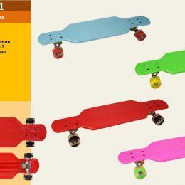 Скейт YW0152-1 (6шт)металл.крепление,колеса PU свет 73 см