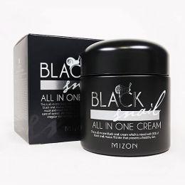 MIZON Крем с экстрактом черной улитки Black Snail All In One Cream