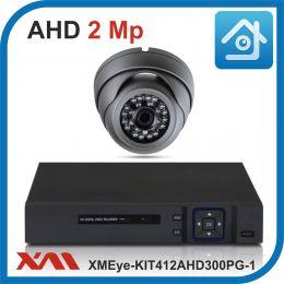 Комплект видеонаблюдения на 1 камеру XMEye-KIT412AHD300PG-1.