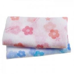 Shower Towel Happy clean day Мочалка-полотенце для душа Цветочек 1 шт