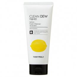 Tony Moly Clean Dew Lemon Foam Cleanser Пена для умывания, 180 мл