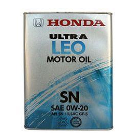 Моторное масло Ultra Leo SM 0W20 4L (минерал.) 08211-99904