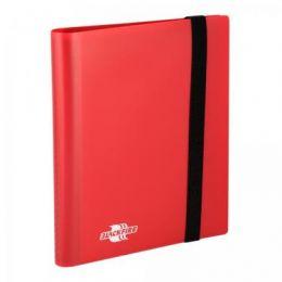 Альбом Blackfire c 20 встроенными листами 2х2 - Flexible Red