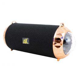 Портативная акустика BT, USB, SD, AUX, AK118 Disco, black