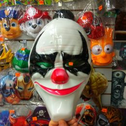 Маска пластиковая Джокер