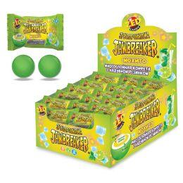 Jawbreaker зубодробилка Мохито многослойная конфета+ жев. резинка 14,6г. Китай