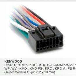 Разъемы магнитол Kenwood CARAV 15-003