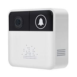 XM-VD-02. Вызывная панель. 720p, Wi-Fi, ИК-10м. Дат. дв., PW 3xAA. Приложение iCSee.