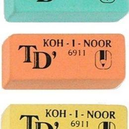 ластик kin.6911Ластик KOH-I-NOOR для мягких чернографитовых карандашей