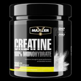 MAXLER, creatine monohydrate, банка 300г.