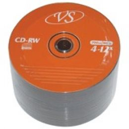 Диск CD-RW VS, 700 Mb, 4-12x