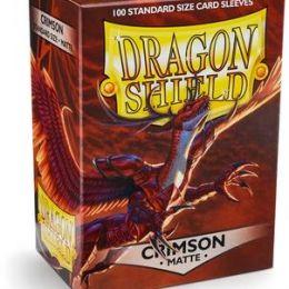 Протекторы Dragon Shield матовые кровавые