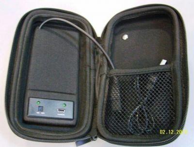 зарядный кейс с солнечной панелью
