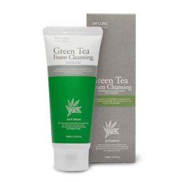 Пенка для умывания с экстрактом зеленого чая 3W Clinic Green Tea Foam Cleansing 100 мл.