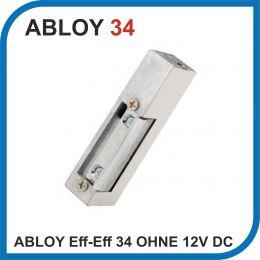 ASSA ABLOY Eff-Eff 34 OHNE STULP 12 V DC (34----------E91). Защелка электромеханическая.