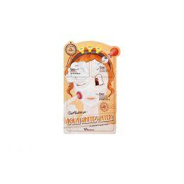 Elizavecca Маска увлажняющая и осветляющая 3х степенчатая aqua white water illuminate mask pack