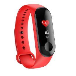 Фитнес-трекер M3, red