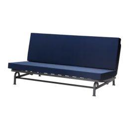 ЭКСАРБИ Диван-кровать 3-местный, темно-синий