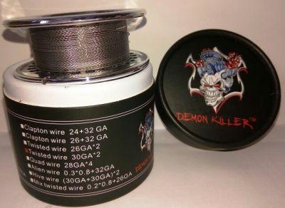 намотка Daemon Killer Twisted wire 30GA*2