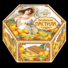 Пастила без сахара с кусочками абрикоса 150г.