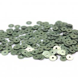 Пайетки плоские 7049 Metal 4 мм 3 гр (Италия)