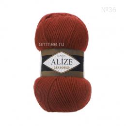 Alize Lanagold 36 (терракотовый), 49% шерсть, 51 % акрил, 100 гр. 240 м.