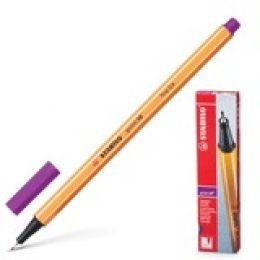 """Ручка капиллярная STABILO """"Point"""", толщ. письма 0,4мм, 88/58, сиреневая"""