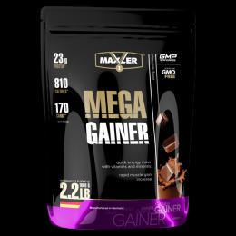 MAXLER, Mega Gainer, дойпак 1кг, chocolate