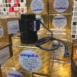 Computar (08K) TG2Z3514FCS-2-31. 3.5-8MM F1.4. Вариофокальный объектив CS для камер видеонаблюдения с фокусным расстоянием 3.5-8 мм.