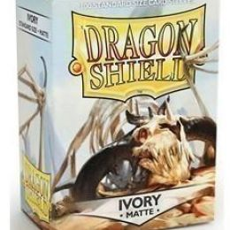 Протекторы Dragon Shield матовые Ivory