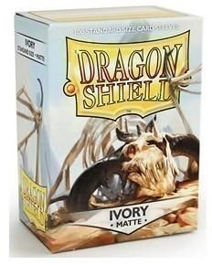 Протекторы Dragon Shield матовые Ivory