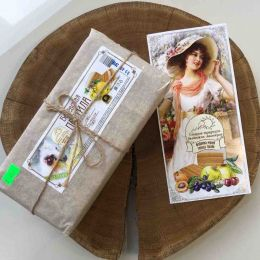 Пастила яблочная 300гр в пергаменте (БЕЗ САХАРА)