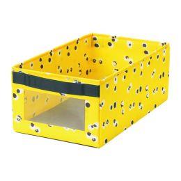АНГЕЛЭГЕН Коробка, желтый 25 x 44 x 17 см
