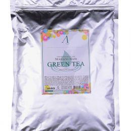 ANSKIN Original Modeling Mask - Green Tea 1kg Маска альгинатная с экстрактом зеленого чая